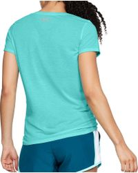 Under Armour Blue Threadborne Streaker Running T-shirt