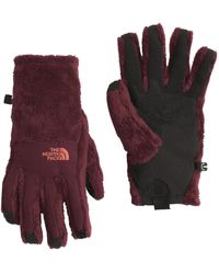 The North Face - Red Denali Thermal Etip Gloves - Past Season - Lyst