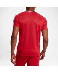 Nike - Red Dry Academy Soccer T-shirt for Men - Lyst