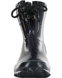 Bogs - Black Urban Farmer Two-eye Lace Rain Boots - Lyst