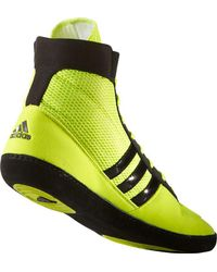 Adidas - Yellow Combat Speed Iv Wrestling Shoe for Men - Lyst