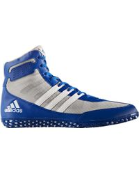 Adidas - Blue Mat Wizard Dt Wrestling Shoes for Men - Lyst