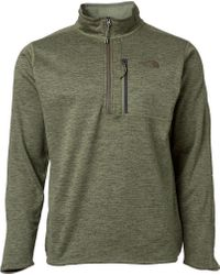 The North Face Green Canyonlands 1/2 Zip Pullover (regular And Big & Tall) for men