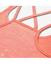 Nike Pink Dri-fit Knit Running Tank Top