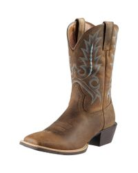4b199b41f90 Men's Brown Sport Outfitter Western Boots