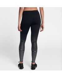 Nike - Black Power Epic Lux Flash Running Tights - Lyst