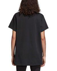 Adidas Black Originals Trefoil Oversize T-shirt