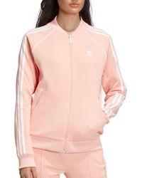 Adidas Pink Originals Track Jacket