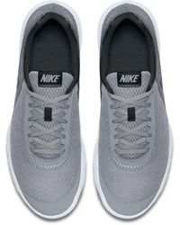 Nike Gray Flex Experience 6 Running Shoes for men