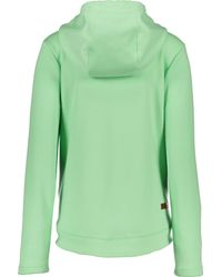 Obermeyer Green Shawni Fleece Hoodie