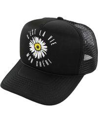 2b4af6023dd Lyst - O Neill Sportswear Cruising Trucker Hat in Black