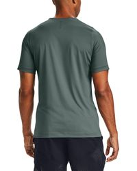 Under Armour Multicolor Rush Heatgear Fitted T-shirt for men