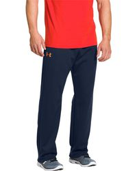 Under Armour - Blue Storm Armour Fleece Pants for Men - Lyst