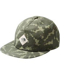 The North Face Green Juniper Crush Hat for men