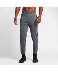 2819e3df11bb Lyst - Nike Dry Max Pants in Gray for Men