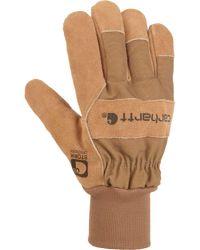 Carhartt - Brown Suede Pile Work Gloves - Lyst
