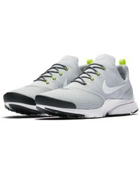 Nike - Gray Presto Fly Shoes for Men - Lyst