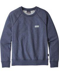 Patagonia Blue Pastel P-6 Label Midweight Crew Sweatshirtëë