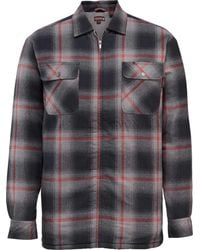 Wolverine - Gray Marshall Shirt Jacket for Men - Lyst