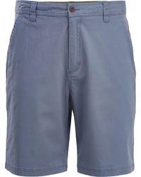 Woolrich Blue Vista Point Eco Rich Shorts for men