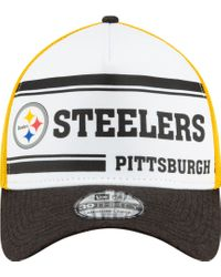 KTZ Multicolor Pittsburgh Steelers Sideline 1970 Home 39thirty Stretch Fit Hat for men