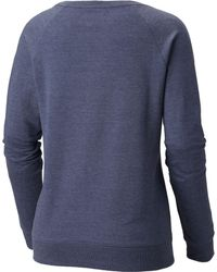 Columbia Blue Live The Journey Fleece Pullover