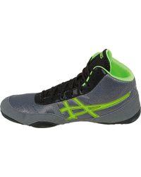 Asics - Green Jb Elite V2.0 Wrestling Shoes for Men - Lyst