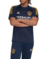 Adidas Blue Los Angeles Galaxy Navy Training Jersey for men