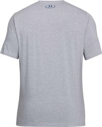 Under Armour Gray Support The Troops Graphic T-shirt for men