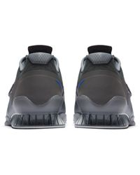 Nike Gray Romaleos 3 Weightlifting Shoe for men