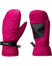Columbia Pink Girls' Core Mittens