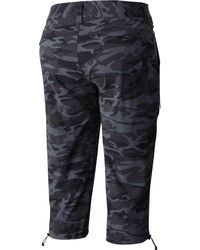 Columbia - Black Saturday Trail Camo Knee Capris - Lyst