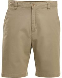 Woolrich Natural Vista Point Eco Rich Shorts for men