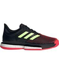 Adidas Multicolor Solecourt Boost Tennis Shoes for men