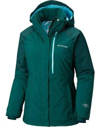 Columbia Green Wildside Jacket