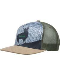 8249e7324fcc1 Lyst - Prana Journeyman Trucker Hat in Blue for Men