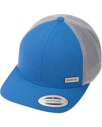 new styles 0609d 6a804 ... where to buy mens blue hawthorne trucker hat 6022c b79cd
