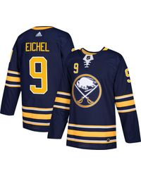 Adidas Blue Buffalo Sabres Jack Eichel #9 Authentic Pro Home Jersey for men