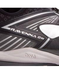 Brooks Black Ravenna 8 Running Shoes for men