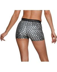 Under Armour Black Heatgear Armour Printed Shorts