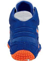 Asics - Blue Omniflex-attack Wrestling Shoe for Men - Lyst