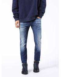 DIESEL   Blue Thanaz Skinny Dark Jeans for Men   Lyst