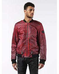 DIESEL | Blue Werocks Jacket for Men | Lyst