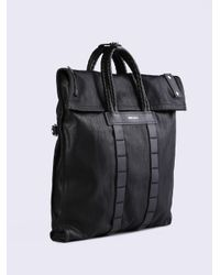 DIESEL - Black D-xploration Toteme for Men - Lyst