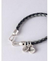 DIESEL - Blue Asanty Bracelet for Men - Lyst
