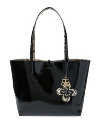 109d0be4fa Lauren by Ralph Lauren. Women s Reversible Tote Bag In Black And Leopard  Print