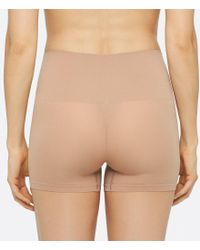 Yummie By Heather Thomson - Natural Yummie Ultralight Seamless Girl Short Panty - Lyst