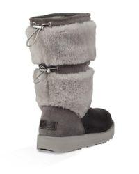 Ugg Black Reykir Waterproof Boots