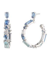 Carolee Metallic Hoop Earrings