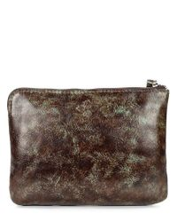 Patricia Nash - Brown Tooled Turquoise Collection Cassini Floral-embossed Wristlet - Lyst
